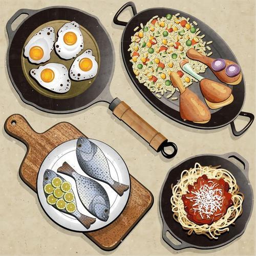 高温烹饪对健康的影响和作用